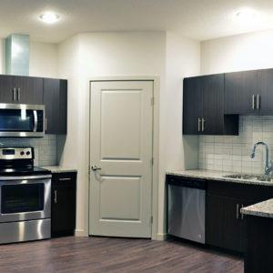 Three Bedroom Unit Kitchen