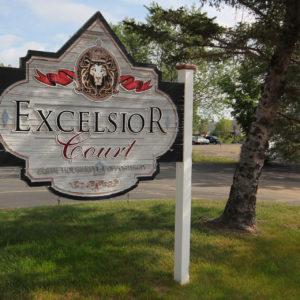 Excelsior Court Sign