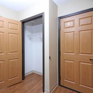 Entry Door & Closet