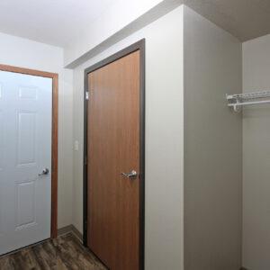 Storage & Garage Entrance