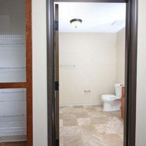 Storage Closet & Bathroom