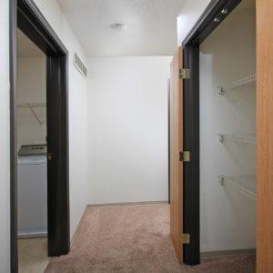 Upstairs Hallway Closet & Laundry