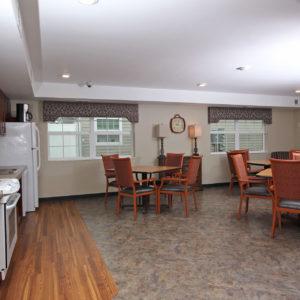 Community Center Kitchen & Dining