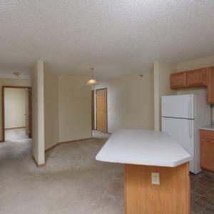 Entry, Kitchen & Hallway