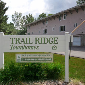 Trail Ridge Townhomes Sign