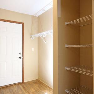 Garage Entry & Storage