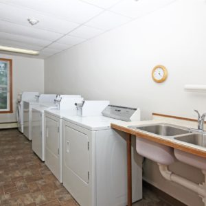 Shared Laundry Facility
