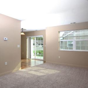 Patio Door, Living & Dining Area