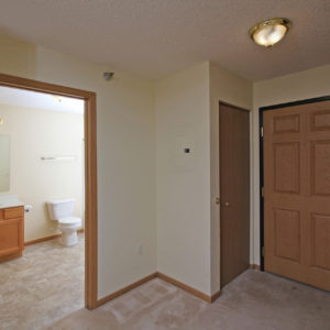 Entry & Bathroom