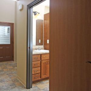 Entry & Lower Level Bathroom