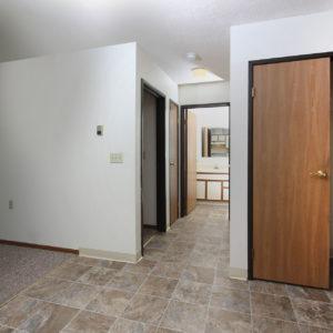 Entry Closet & Hallway