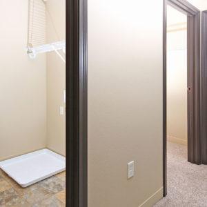 Upper Level Hallway & Laundry Closet