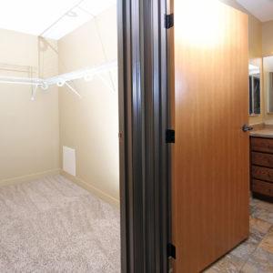 Upper Level Hallway Closet & Bathroom