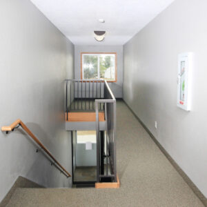 Stairway Access to Second Level