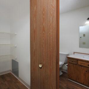 Bathroom & Hallway Closet