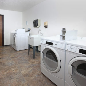 Shared Laundry in Apartment Building