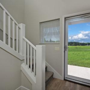 Stairway and Patio Door