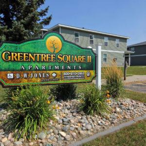 Greentree Square II Sign