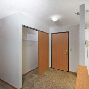 Entrance & Entry Closet