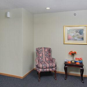 Hallway Seating Area