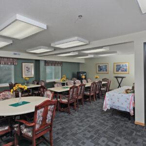 Community Room & Kitchen