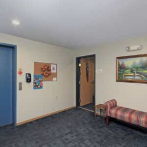 Second Floor Seating Area
