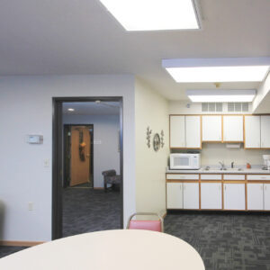 Activity Room with Kitchen