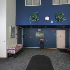 Lobby & Entrance to Garage