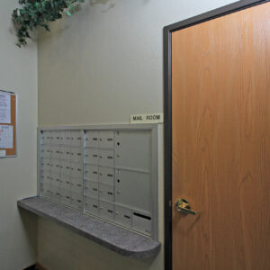 Mailboxes & Mail Room