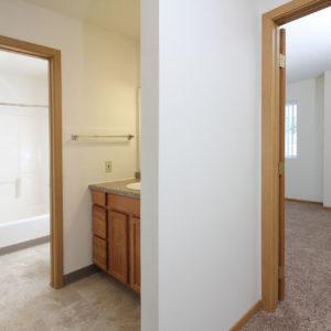 Upper Level Bathroom & Bedroom One