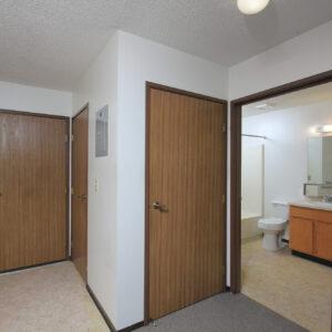 Entry, Closet & Bathroom