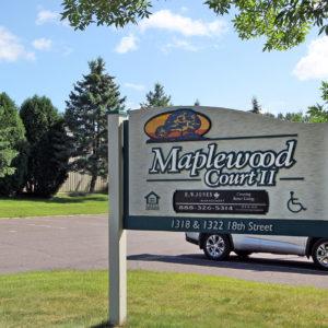 Maplewood Court II Sign