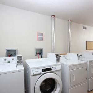 Shared Laundry Facility