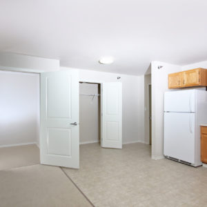 Kitchen & Large Closets