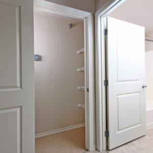 Large Closet & Bath