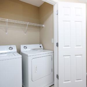 Upper Level Laundry Closet
