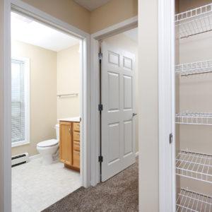 Upper Level Bath & Closet