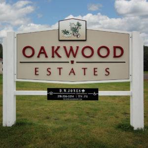 Oakwood Sign