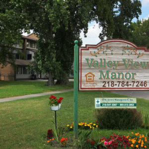 Valley View Manor Sign