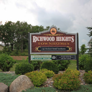 Richwood Heights Sign