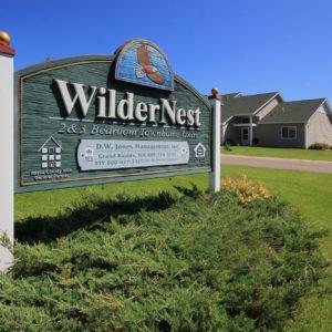 WilderNest Sign