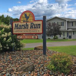 Marsh Run Townhomes Sign