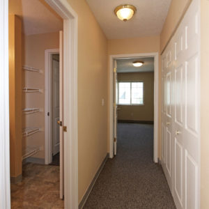 Upstairs Hallway- Laundry Closet
