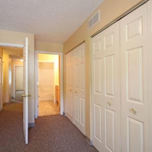 Bedroom Two - Hallway - Bath