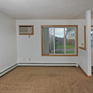 Front Entry & Living Room
