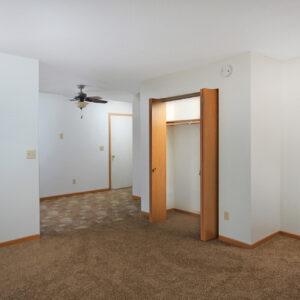 Living Room & Closet