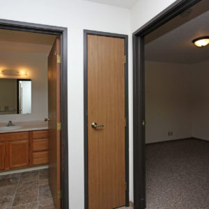Bathroom & Bedroom One
