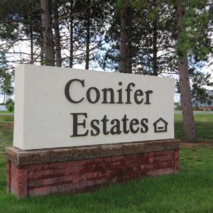 Conifer Estates Sign