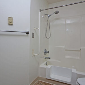 Accessible Bathtub/Shower