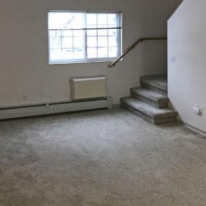 Living Area & Stairway